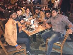 Kuldeep Yadav @ My Bar headquarters, Connaught Place (CP), New Delhi photos