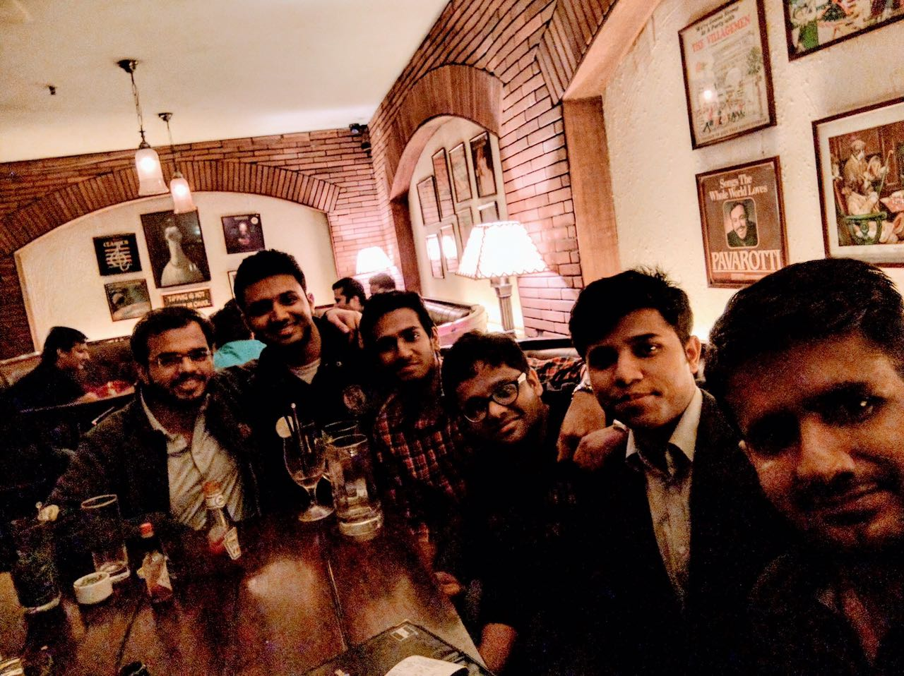 Arpit @ Downtown - Diners & Living Beer Cafe, Sector 29, Gurgaon photos