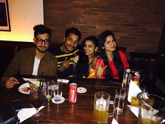 himanshu @ Downtown - Diners & Living Beer Cafe, Sector 29, Gurgaon photos