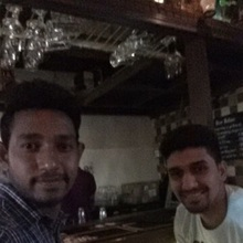 Ankit @ Cafe Immigrant, Connaught Place (CP), New Delhi photos