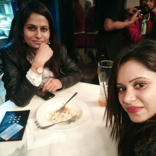 Shalini @Cha Bar, Connaught Place (CP), New Delhi