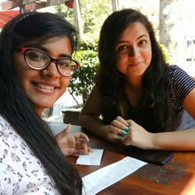 Vidhi Grover @Cafe Coffee Day, Janakpuri New Delhi, New Delhi