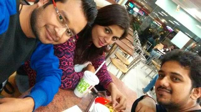 Negi Vipin @McDonald's, MGF Metropolitan Mall, MG Road, Gurgaon