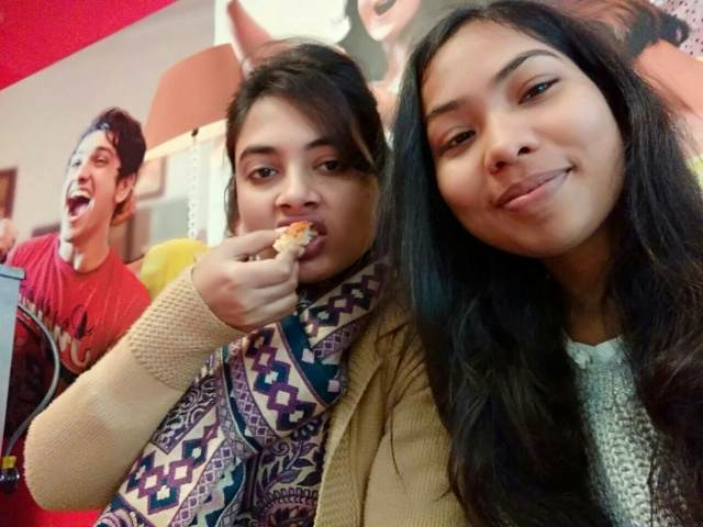 Kirti @Domino's Pizza, Daryaganj, New Delhi