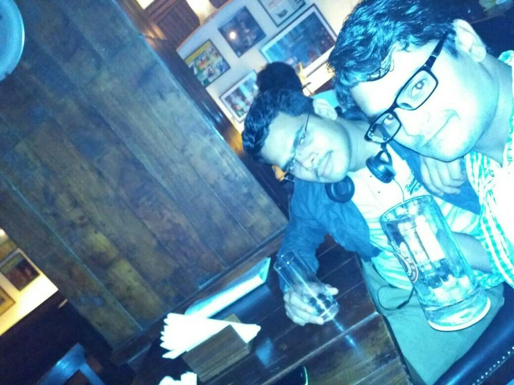 Sachin Chavan @ Downtown - Diners & Living Beer Cafe, Sector 29, Gurgaon photos
