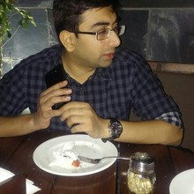 Abhijit @Downtown - Diners & Living Beer Cafe, Sector 29, Gurgaon