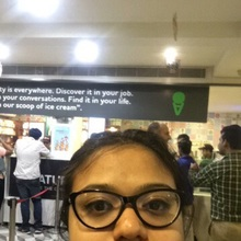 vanika mahajan @Natural Ice Cream, Connaught Place (CP), New Delhi