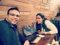 Ish Makkar @Cafe Delhi Heights, Ambience Mall Gurgaon, Gurgaon