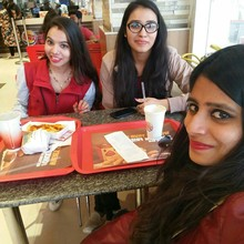 Nikita Aggarwal @Burger King, Netaji Subhash Place New Delhi, New Delhi