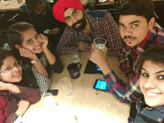 Akanksha Puri @ Cafeteria & Co., Vijay Nagar, New Delhi photos