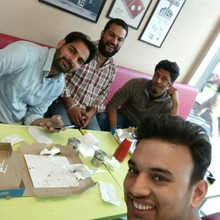 Aman Yadav @Domino's Pizza , , Gurgaon