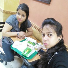 Meenakshi Pandey @Subway, Greater Kailash (GK) 2 New Delhi, New Delhi