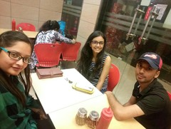 Anshika Mishra @Pizza Hut, Nehru Place New Delhi, New Delhi