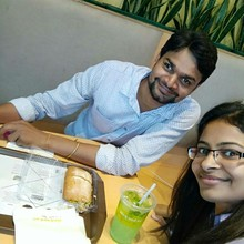 Renu Gupta @Au Bon Pain, DLF Cyber City, Gurgaon