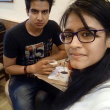 Manju Raj @Domino's Pizza, Connaught Place (CP) New Delhi, New Delhi