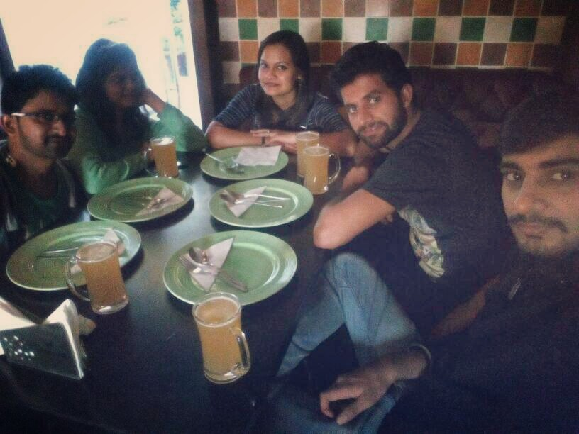 Chirag @ Cafe Immigrant, Connaught Place (CP), New Delhi photos