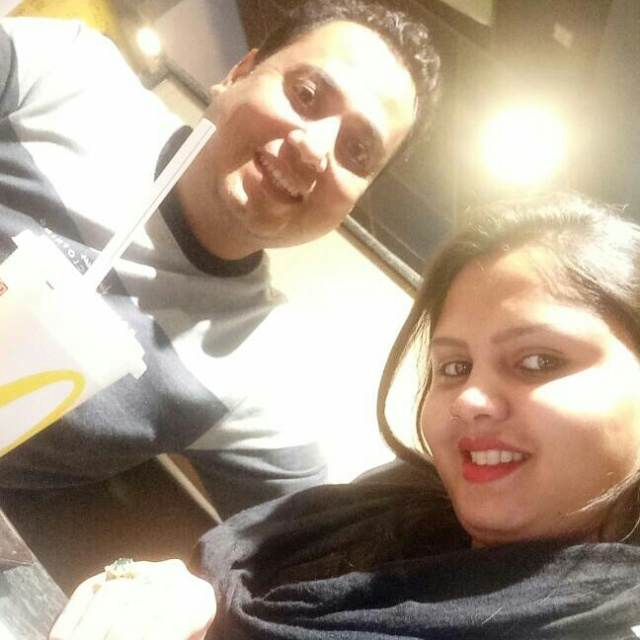 Dolly Sharma @McDonald's, Daryaganj, New Delhi