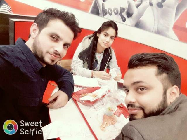 Lakshya mehra @KFC, MG Road, Gurgaon