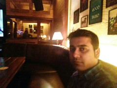 Akash Sharma @ Downtown - Diners & Living Beer Cafe, Sector 29, Gurgaon photos