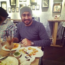 Jatinder @ Cafeteria & Co., Vijay Nagar, New Delhi photos