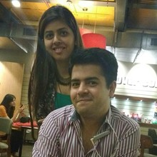 Abhishek Sharma @Cafe Coffee Day, B Block, Connaught Place (CP) New Delhi, New Delhi