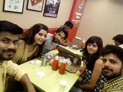 neha yadav @Domino's Pizza, MG Road Gurgaon, Gurgaon