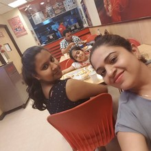 Bindu Ahuja @Pizza Hut, Vikaspuri New Delhi, New Delhi