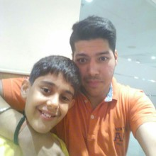 Rushil Bajaj @Burger King,  HUDA Metro, Sector 29 Gurgaon, Gurgaon