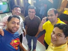 Amit Roy @ Taste of China, Connaught Place (CP), New Delhi photos