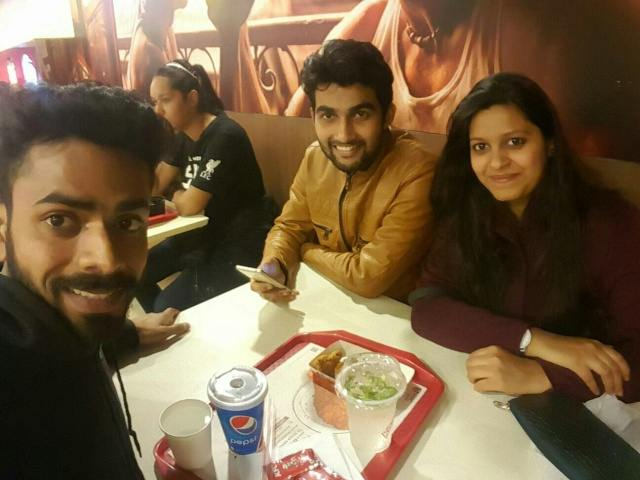 Vineet kumar @KFC, Connaught Place (CP), New Delhi