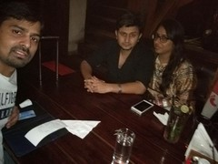 Ritesh Srivastava @ Downtown - Diners & Living Beer Cafe, Sector 29, Gurgaon photos