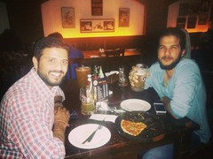 Abhishek Sharma @ Downtown - Diners & Living Beer Cafe, Sector 29, Gurgaon photos