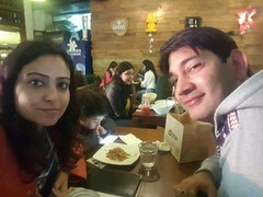 Naina Malhotra @Cafe Delhi Heights, Ambience Mall, Gurgaon
