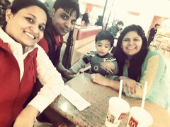 Charuta Saini @McDonald's, Ground Floor, Ambience Mall, Gurgaon