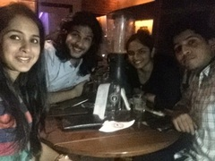 Tanuj Sharma @ Downtown - Diners & Living Beer Cafe, Sector 29, Gurgaon photos