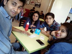 Pankaj Tanwar @Domino's Pizza, , New Delhi