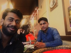 Max Paul @Cafe Coffee Day, M Block, Connaught Place (CP), New Delhi